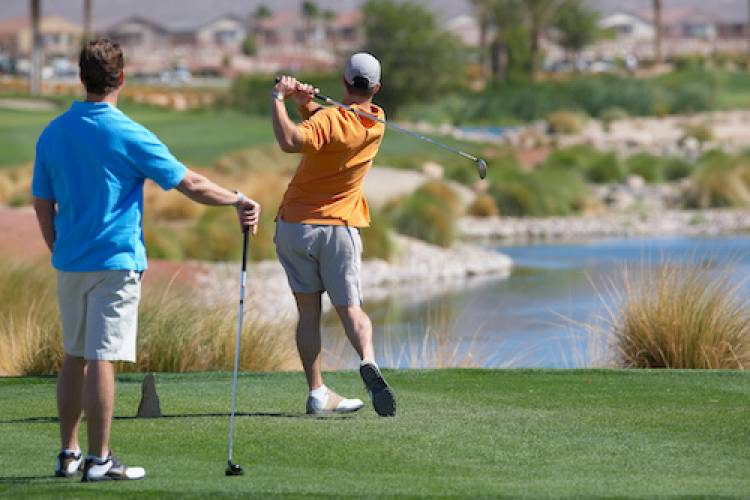 lake las vegas golf
