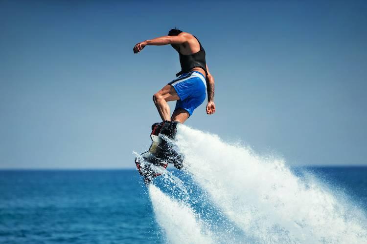 lake las vegas flyboarding